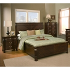 Windsor Queen Panel Bedroom Set - Dark Cherry