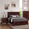 Carrington Bedroom Set - Merlot