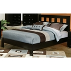 Manhattan California King Platform Bed - Dark Espresso