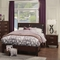 Costa Mesa Bedroom Set - Medium Cherry - ALP-NCC-BED-SET