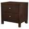 Solana 2-Drawer Nightstand - Cappuccino - ALP-NSK-02