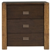 Element 3 Drawers Nightstand - Espresso