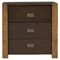 Element 3 Drawers Nightstand - Espresso - ALP-ORI-213-02
