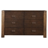 Element 6 Drawers Dresser - Espresso