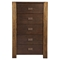 Element 5 Drawers Chest - Espresso - ALP-ORI-213-05