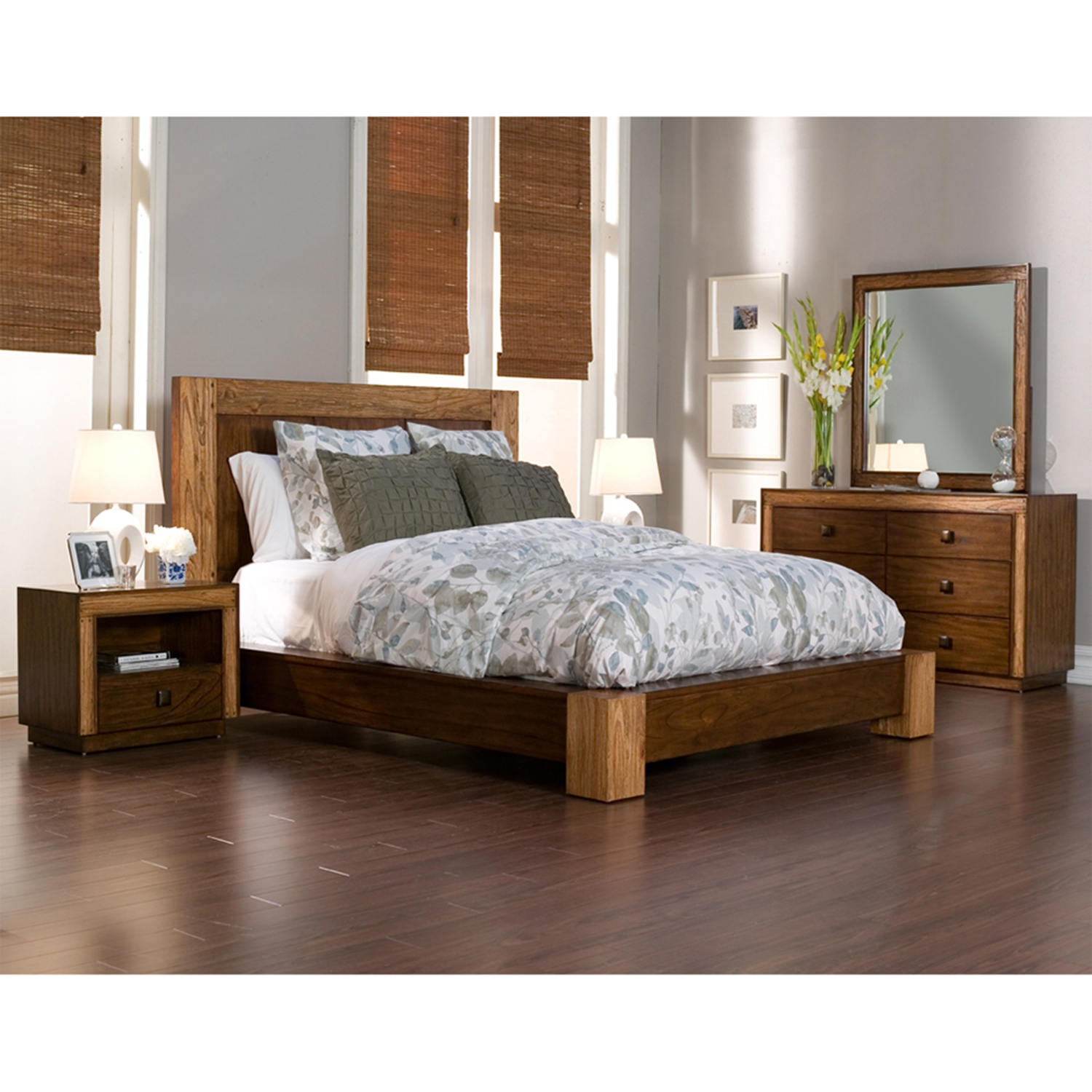 Jimbaran Bay Bedroom Set - Tobacco