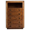Jimbaran Bay 5-Drawer Chest - Tobacco