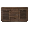 Napa Sideboard - Wine Bottle Storage, Salvaged Brown