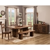 Napa 5-Piece Dining Set - Salvaged Brown
