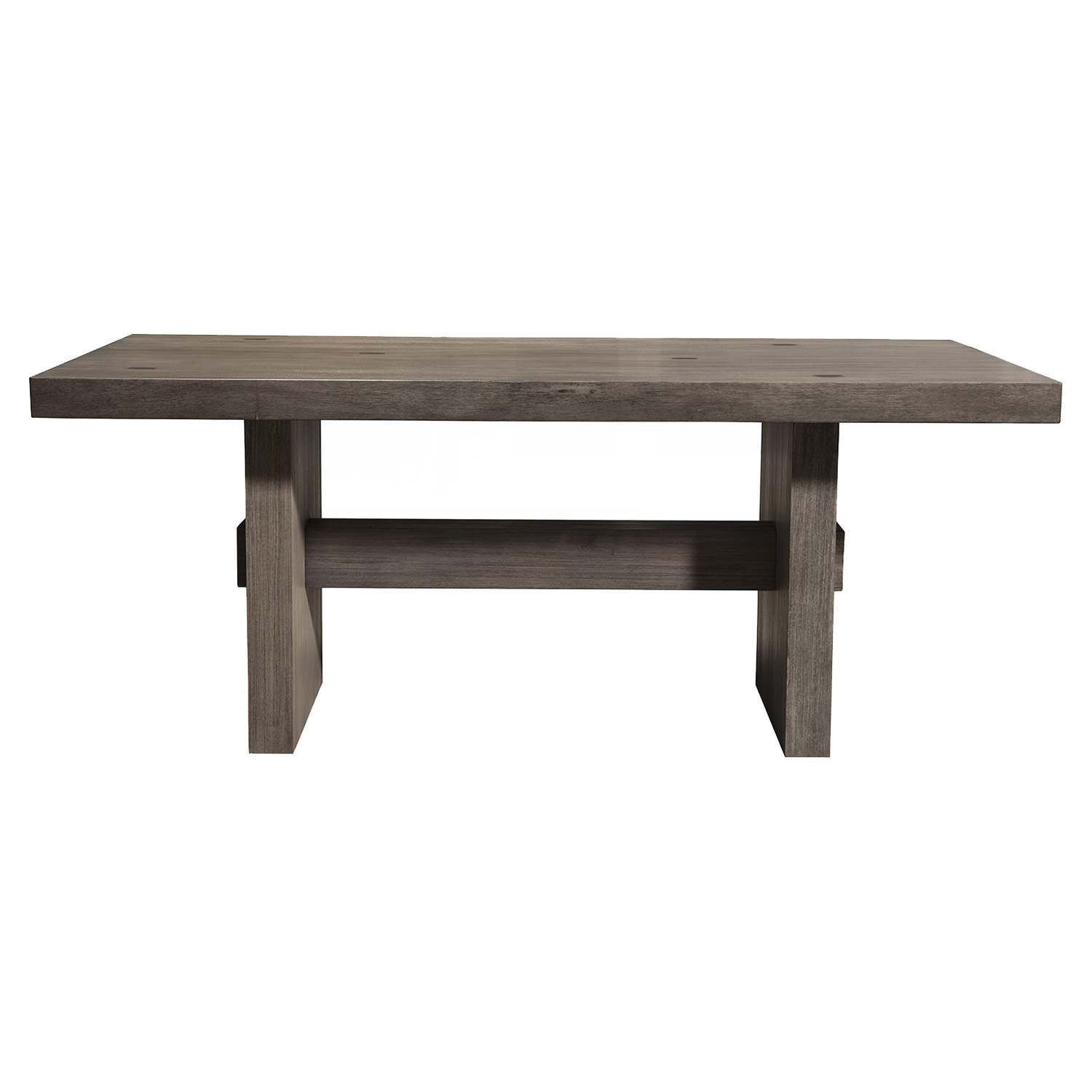 Fiji 5-Piece Dining Set - Weathered Gray - ALP-ORI-814-SET