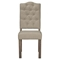 Fiji Tufted Upholstered Side Chair - Weathered Gray - ALP-ORI-814-02