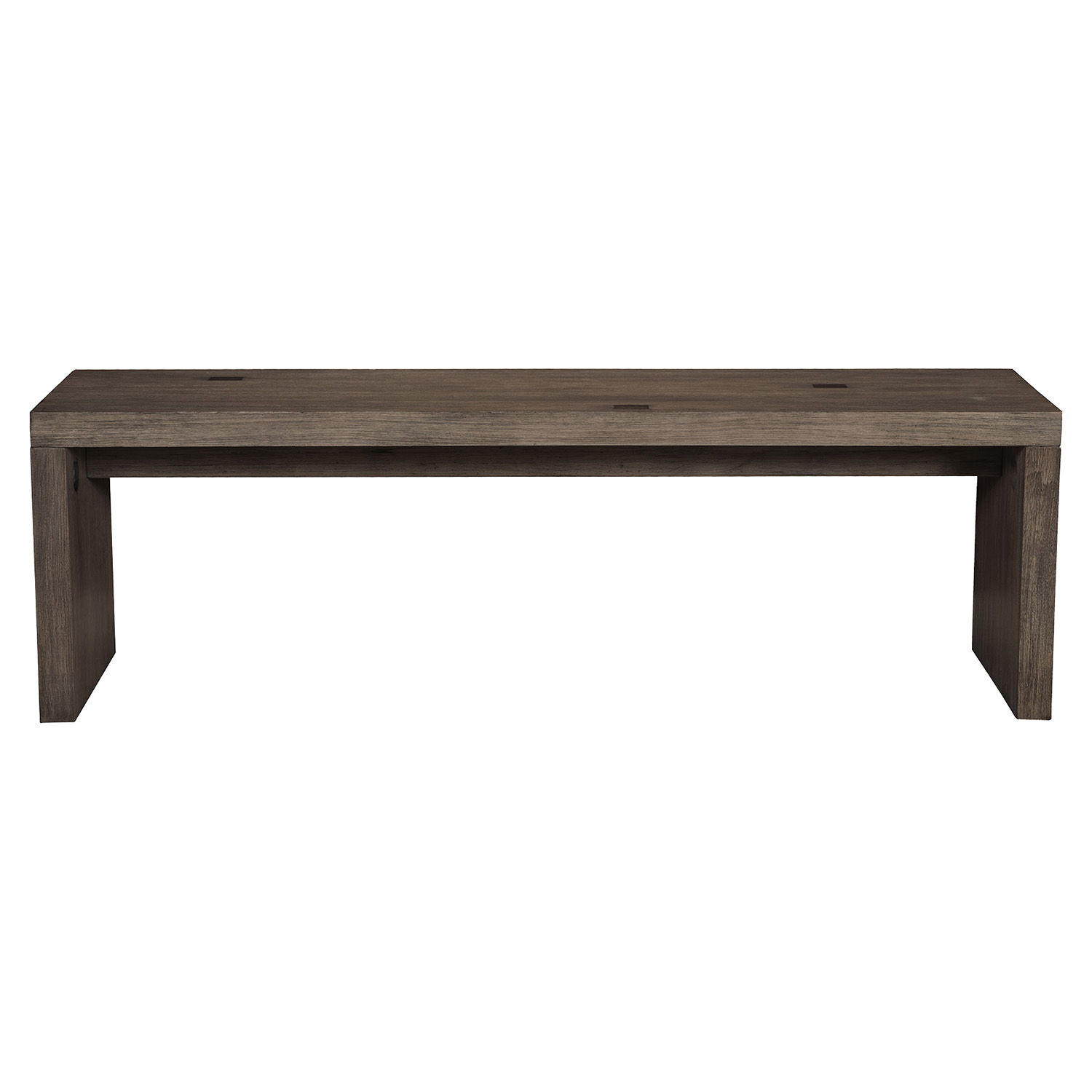 Fiji Bench - Weathered Gray