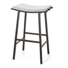 Nathan Modern Backless Bar Stool