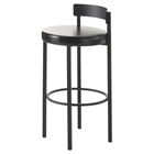 Zoe Modern Low Back Stool