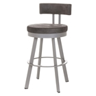 Barry 26%27%27 Counter Stool - Swivel, Cushioned Seat & Backrest