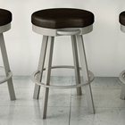 Bryce 30%27%27 Bar Stool - Swivel Seat, Backless