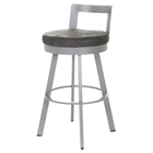 Blake 26%27%27 Counter Stool - Swivel, Low Backrest