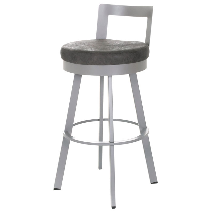 Blake 30'' Bar Stool - Swivel, Low Backrest