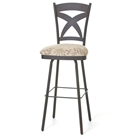 Marcus Swivel Stool in Cold Rolled Steel