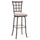 Jamie Square Back Swivel Stool
