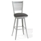 Edwin Modern Ladder Back Swivel Stool - AMIS-41498