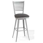 Edwin Modern Ladder Back Swivel Stool
