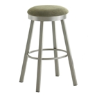 Conner Upholstered Backless Swivel Stool