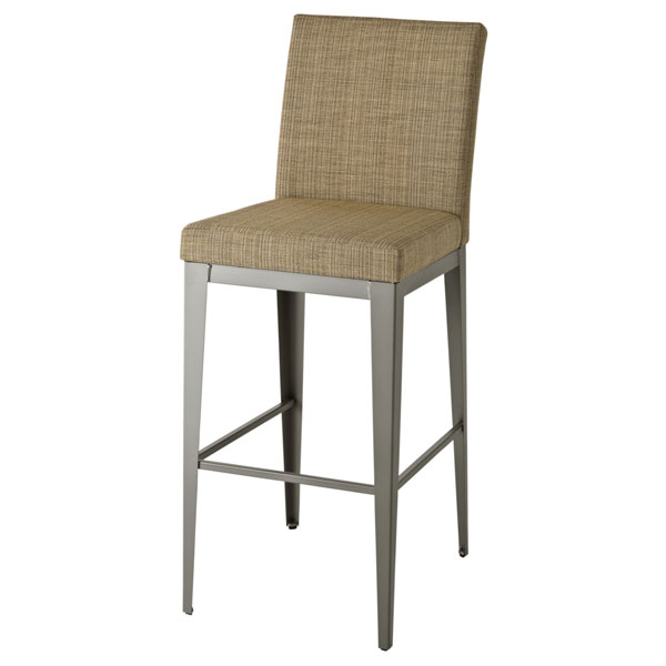 Pablo Contemporary Stool with Back - AMIS-45304