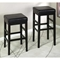 Sonata Stationary Leather Barstool - AL-LCSTBAXXXXXX