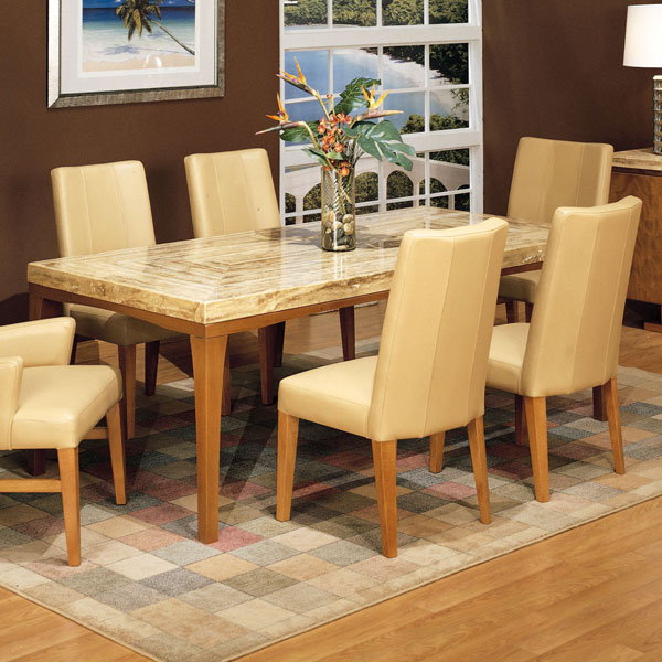 Bookmatch Dining Table