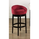 Igloo Microfiber Swivel Barstool
