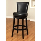 "Boston 26"" Leather Swivel Counter Stool"