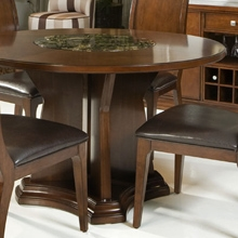 Ashton Round Dining Table in Cherry