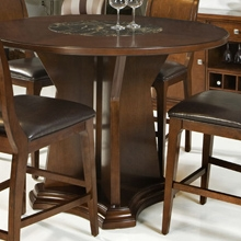 Ashton Round Counter Height Table in Cherry