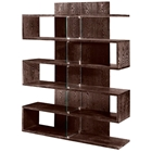 Thorne Wooden Bookcase in Chocolate