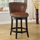 Lisbon Fabric Swivel Barstool
