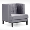 Noho Chic Tufted Arm Chair