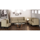 Noho Chic Tufted Three Piece Sofa Set