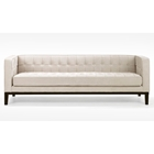 Roxbury Chenille Tufted Sofa
