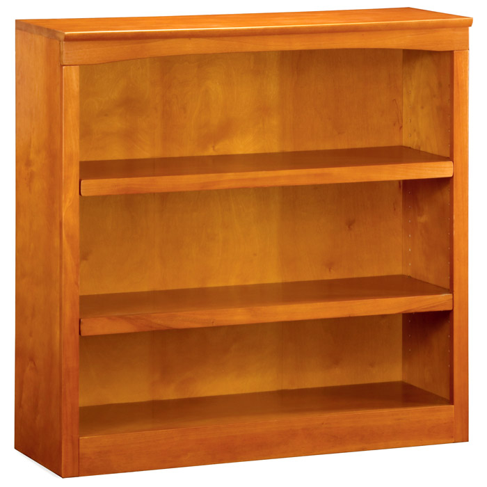 3-Tier Wooden Bookcase with Adjustable Shelves - ATL-H-8003