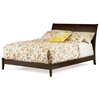 Bordeaux Sleigh Platform Bed w/ Open Footrail