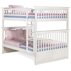 Columbia Full Size Slat Bunk Bed