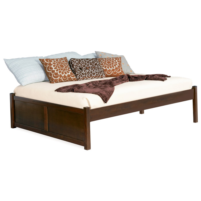 Concord Platform Bed w/ Flat Panel Footboard - ATL-CPBFP