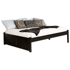 Concord Platform Bed w/ Flat Panel Footboard in Espresso