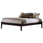 Concord Platform Bed w/ Open Footrail in Espresso