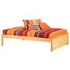 Concord Platform Bed w/ Flat Panel Footboard