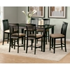 Deco 7 Piece Pub Set w/ Modern Rectangular Table