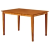 Deco 60 x 42 Modern Pub Table w/ Butterfly Leaf Extension