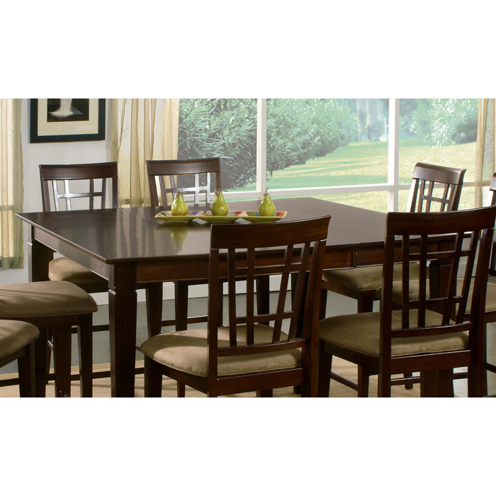 Montreal 54 x 54 Contemporary Dining Table w/ Butterfly Extension - ATL-MO54X54DTBL