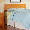 Miami Modern Wooden Headboard in Caramel Latte